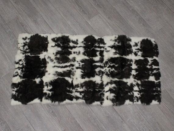 140-3L-BK Black L22 Dyed #3 Rabbit Plate