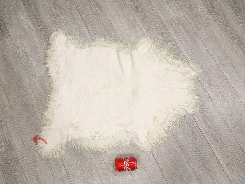 66-A-G4181 Angora Goat Skin Hide Pelt #1 Quality 9UL18