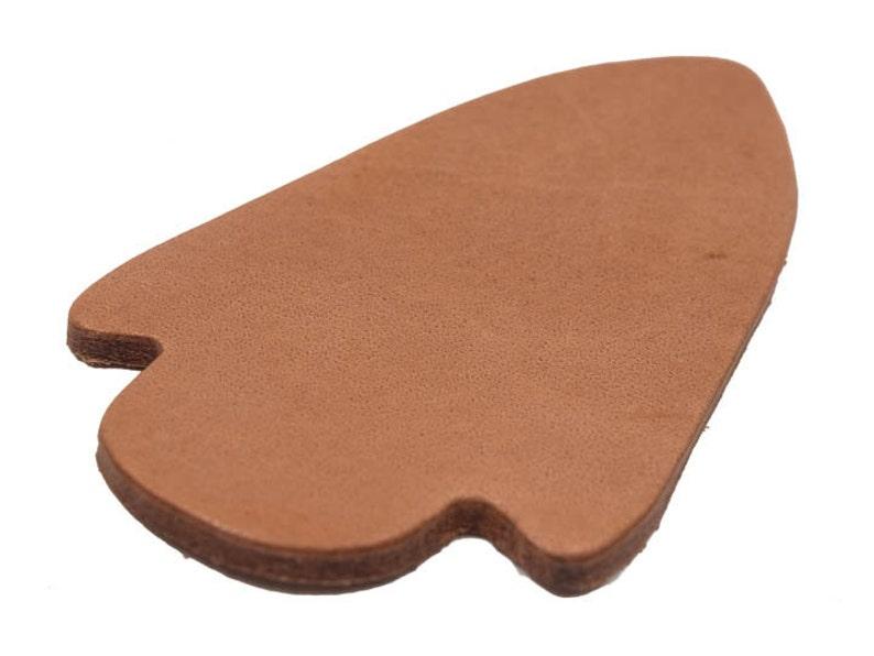 10 Leather Arrowheads 3.75 x 2 572-10 Q7