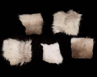 """Five (5) 4""""x4"""" Reindeer Project Pieces (33-PP-0404)"""