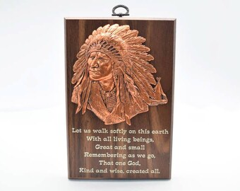 Wisdom Plaque: Great Spirit (549-3)