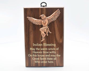 Wisdom Plaque: Indian Blessing (549-4)