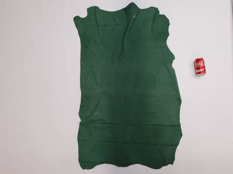 Pig Suede Tannery Run Green 9 sq ft K11 296-1-GR-X2142