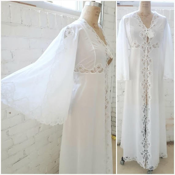 Vintage Luxury Robe, Bridal Robe, Maternity Robe