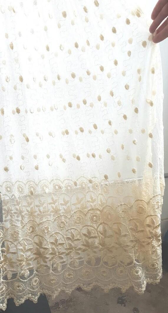 Vintage 2 Piece Lace Bridal Set, Bridal lingerie'… - image 9