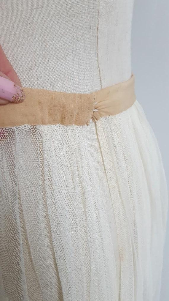 Vintage 2 Piece Lace Bridal Set, Bridal lingerie'… - image 10