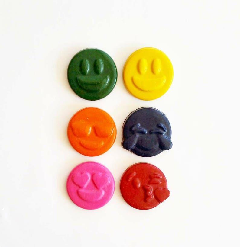 Emoji Crayons Emoticon Party Gifts