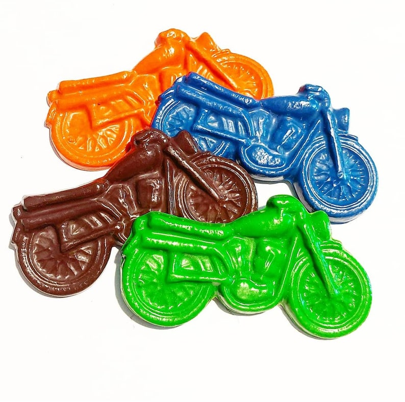 Motorcycle Crayons Motorcycle Party Dirt Bike Bike Party