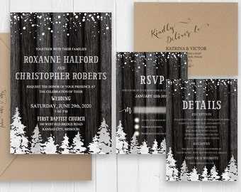 Winter Invitation Set