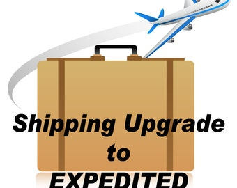 Shipping Upgrade to Expedited Shipping