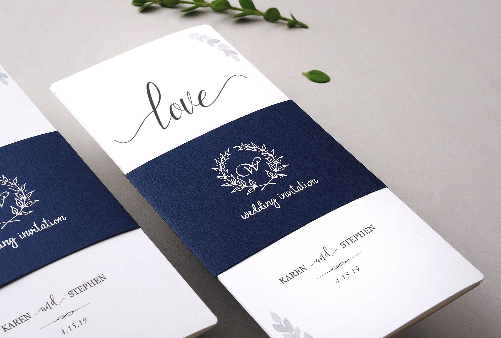 All In One Wedding Invitations - Wedding Photography