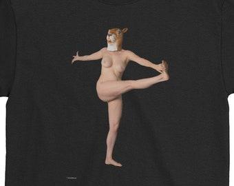 Squirrel  Yoga  T-Shirt