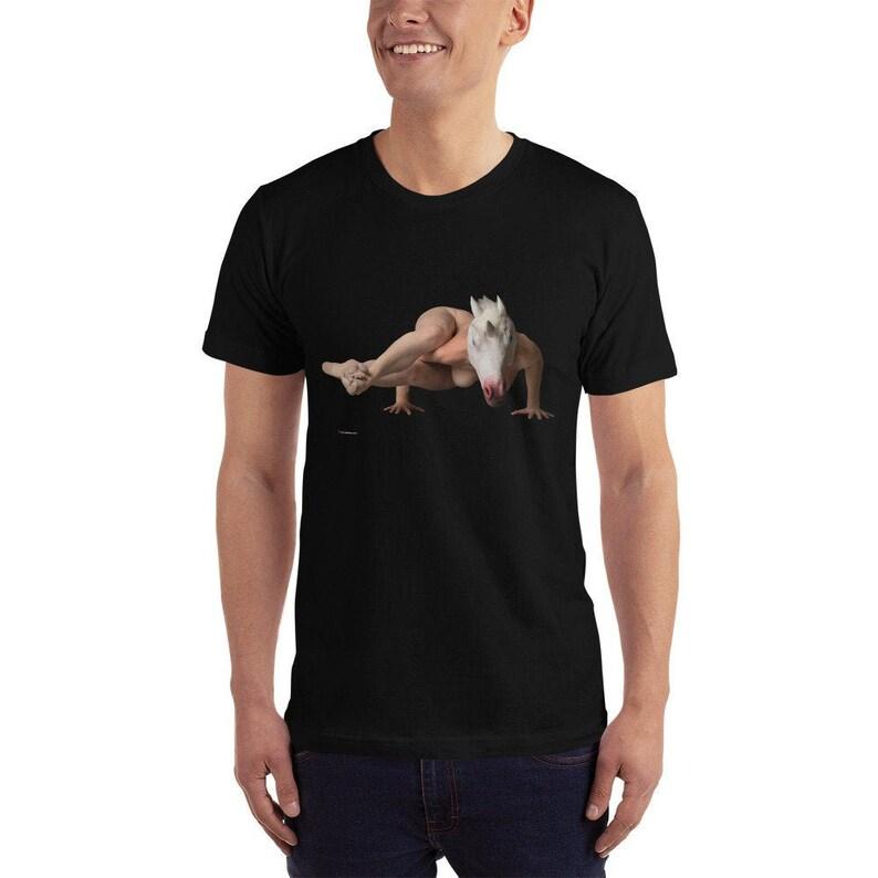 Unicorn Yoga Pose T-Shirt image 0