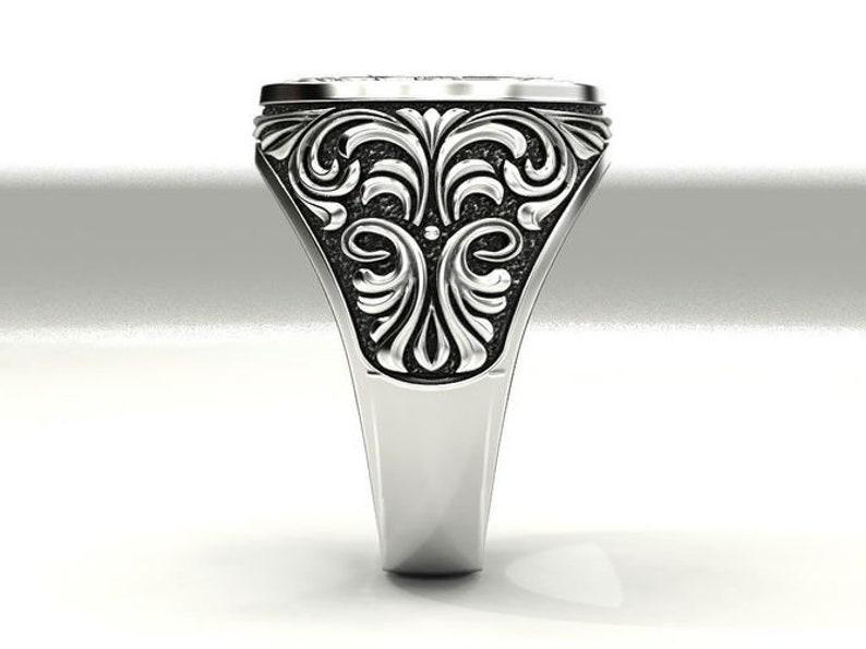Varouxi Masonic Ring Handmade Freemasonry SILVER 925