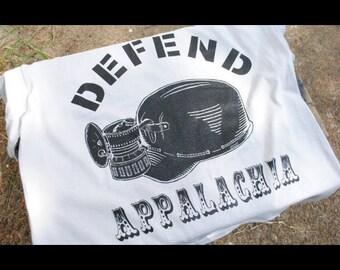 Coal Miner Defend Appalachia Shirt