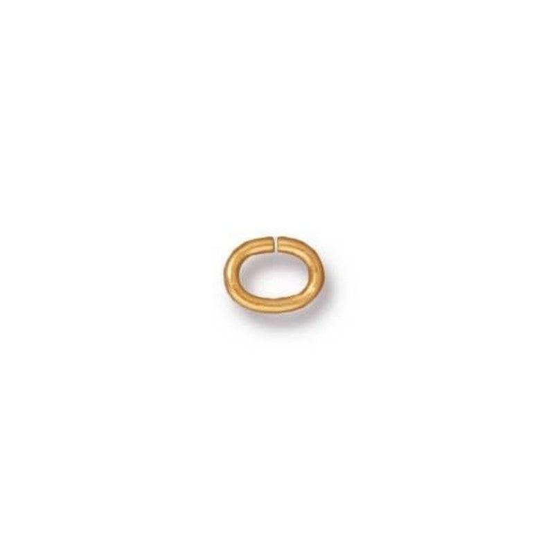 TierraCast Medium Oval Jump Ring 20 Gauge 4x3mm ID sold per 20 pack all finishes