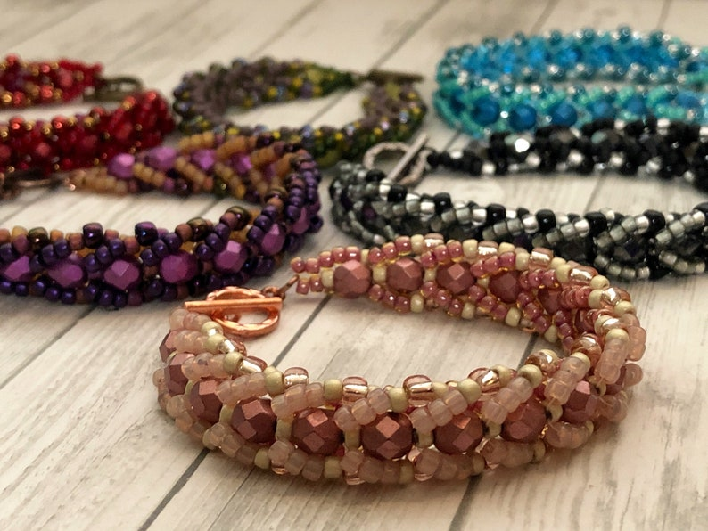 Two Way Street Bead Kit for DIY Reversible Bracelet image 0