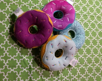 Random Dog Toy | Dog Gift | Squeaky Dog Toy| Dog Lover Gift | Puppy Toy | Squeaky Dog Toy | Holiday Dog Toy | Gift For Pet Lover | Donut Toy