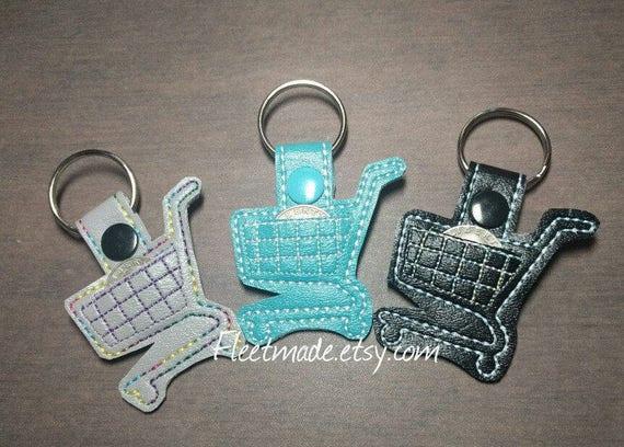 Aldi Quarter keychain