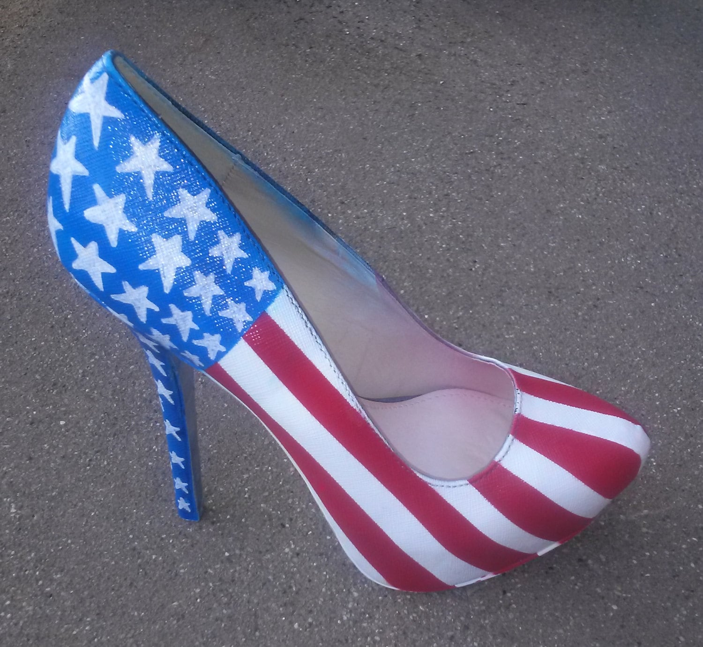 4c54a9c88223 Patriotic Heels   American Flag Heels   4th Of July Pumps