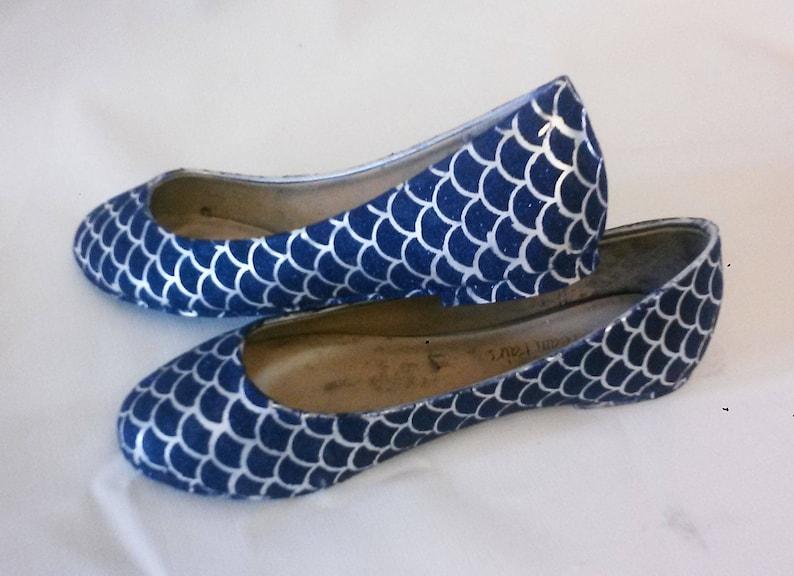 Glitter Flats / Blue Glitter Flats