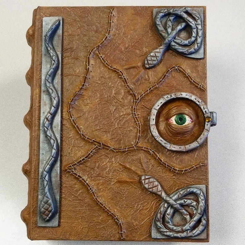 Hocus Pocus Spell Book with Magnetic Closure image 1
