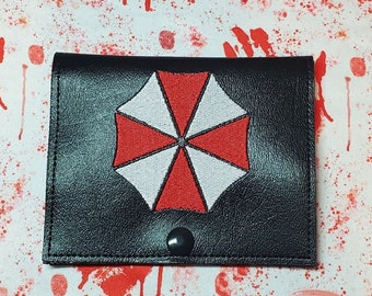 Evil Umbrella Vaccine Card Holder, Conspiracy Theory Vaccine Passport, Secret Government Vaccination Record Keeper, Perfect for Cosplay