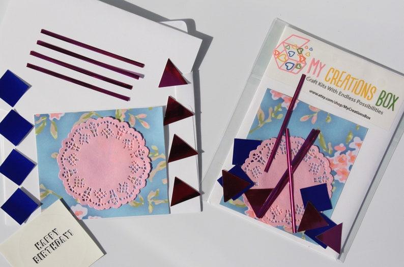 Birthday Card Kit Greeting Kids