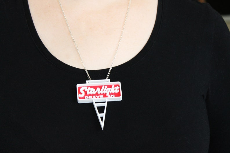 Canberra Icon Jewellery Starlight Drive-in Necklace