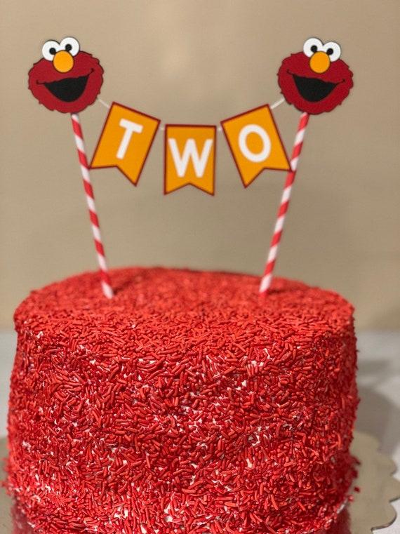 Elmo Cake Topper Elmo Cake Elmo Birthday