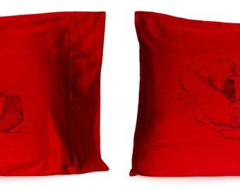 Girl Pile Pillowcase Set (Standard, 2)