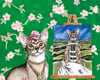 The Lesbian Sex Haiku Book (with Cats!): Frida Kahlo