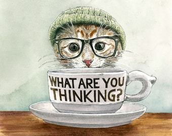 The Lesbian Sex Haiku Book (with Cats!): What Are You Thinking