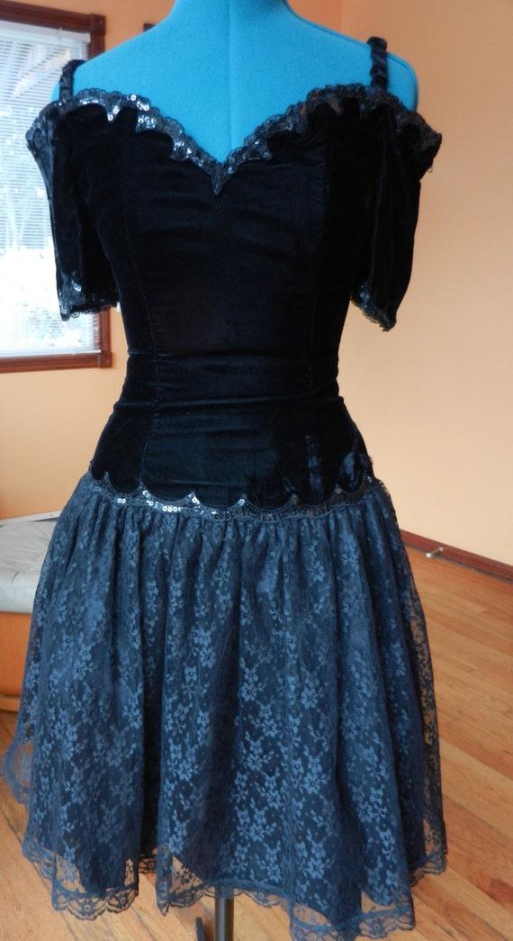 VINTAGE Jessica McClintock/Gunne Sax Party Dress