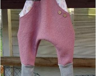 Walk pants from Wollwalk Walkloden Knickerbocker old pink rainbow