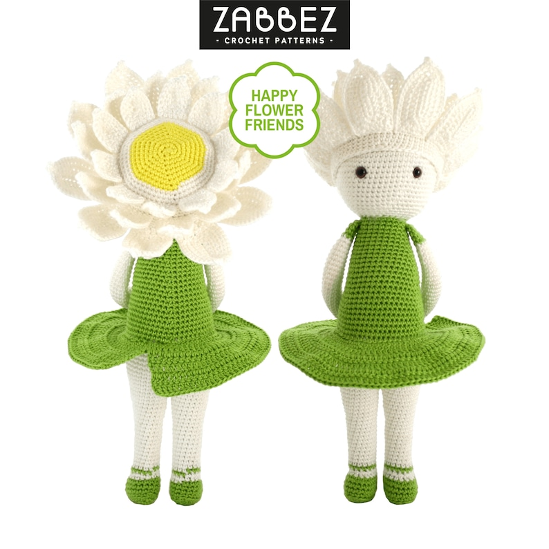 Crochet pattern amigurumi doll Water Lily Winnie image 0