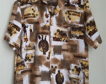 819b8e3a Vintage 1960s Hawaiian Shirt
