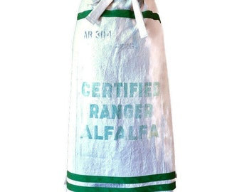 Certified Ranger Alfalfa Seed Sack Half Apron / Apron for Women Sizes XS-M