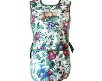 Cobbler Apron in Fruit Print / Cobbler Apron for Women Size S-XL