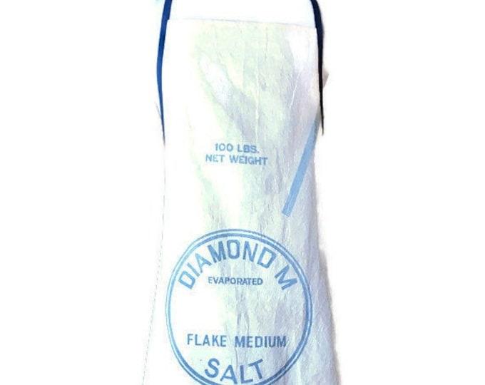 Diamond M Salt Sack Apron for Women Fits Sizes M to XL / Morton Salt Apron
