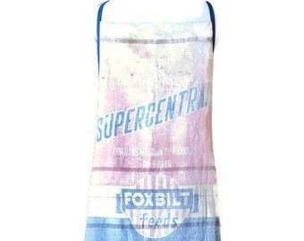 Supercentrate Foxbilt Feeds Sack Apron for Woman Fits Sizes XL - 1X