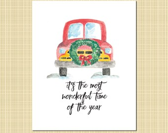 The Most Wonderful Time the Year art print