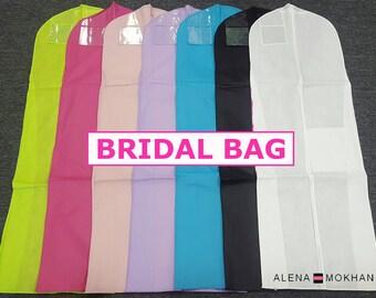 Breathable Wedding Gown Bridal Prom Dress Garment Bag Extra Long - U Pick Color