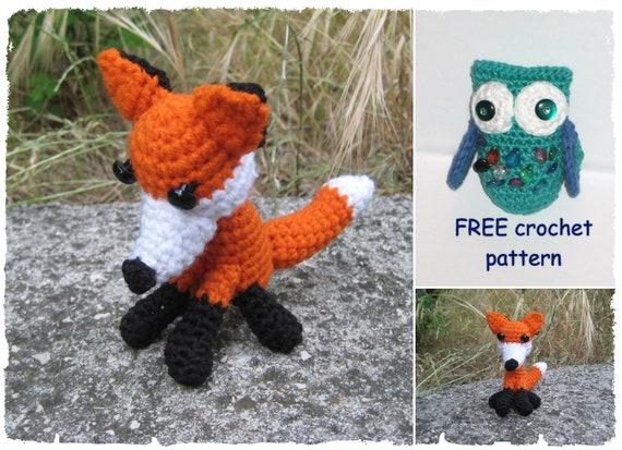 Amigurumi Fox Crochet Pattern Free Owl Crochet Pattern Etsy
