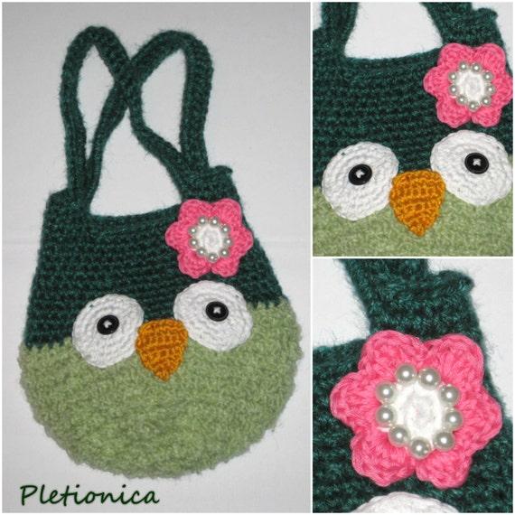 Crochet Owl Bag Pattern Owl Amigurumi Free Crochet Pattern Etsy
