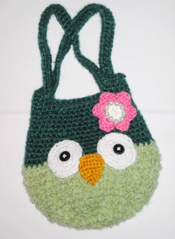 Crochet Owl Bag Pattern Owl Amigurumi Free Crochet Pattern Easy