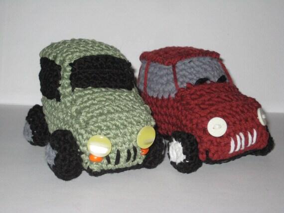 Amigurumi Car Crochet Pattern Crochet Vehicle Pattern Toy Etsy