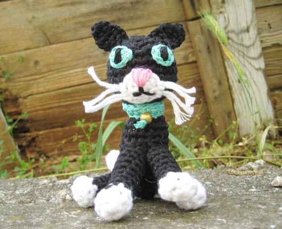 Crochet Cat Pattern Amigurumi Black Cat Amigurumi Kitten Etsy