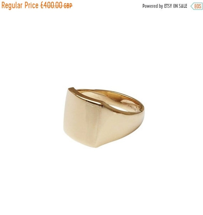 78061584f3f74 ON SALE Square gold signet ring