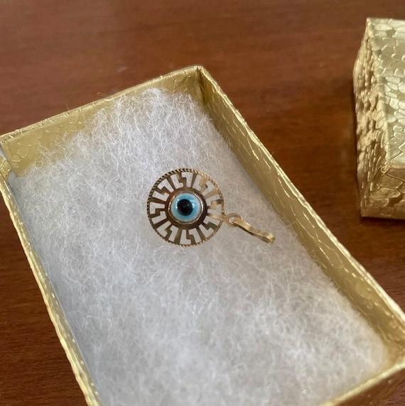 Vintage Evil Eye Pendant